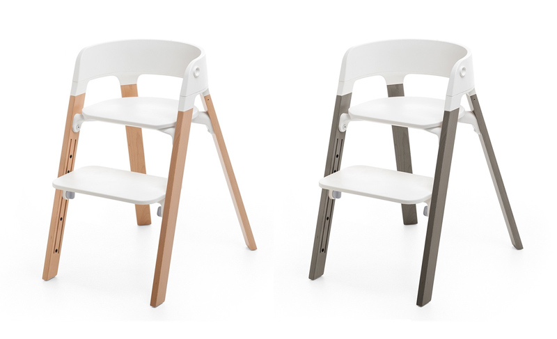 Stokke steps a highchair that grows with you 9 months for Chaise tripp trapp