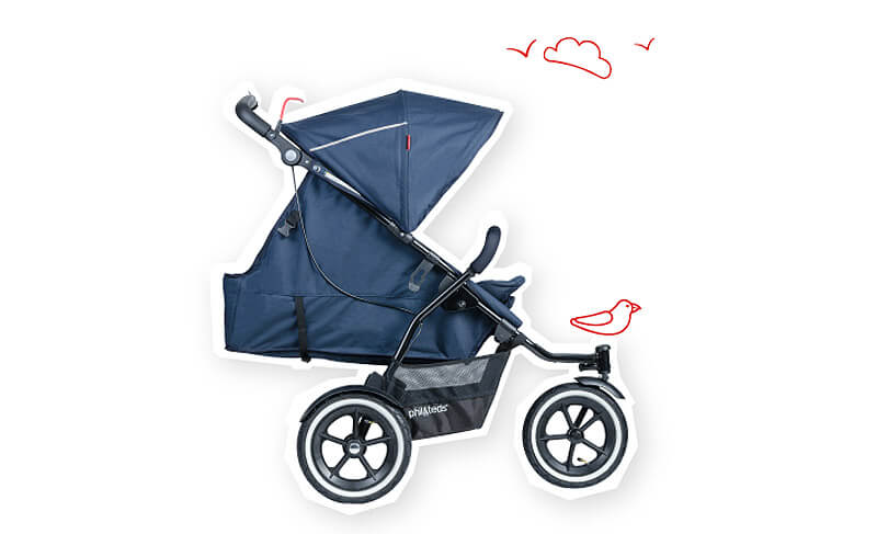 Adapt & Survive With The Phil & Teds Sport - 9 months & forever
