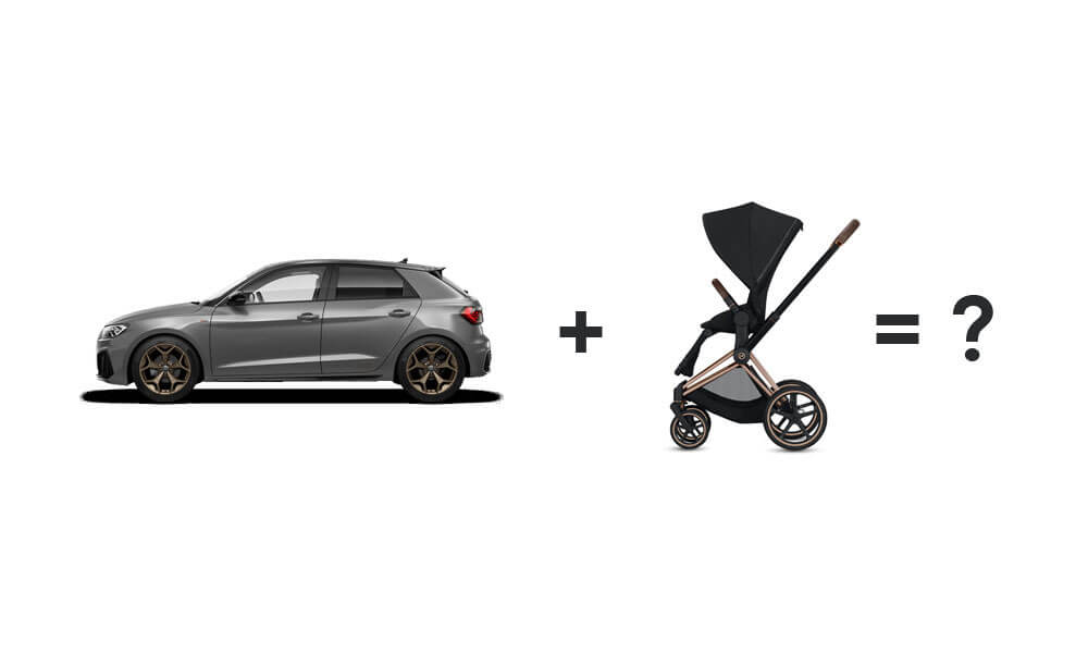 Audi A1 Pushchair Fitting - Banner