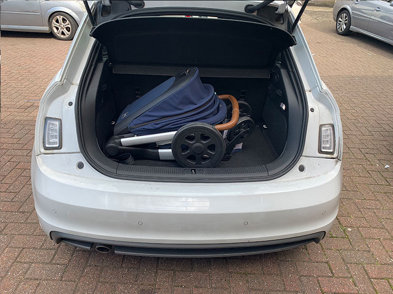 Audi A1 Pushchair Fitting - Joolz Hub