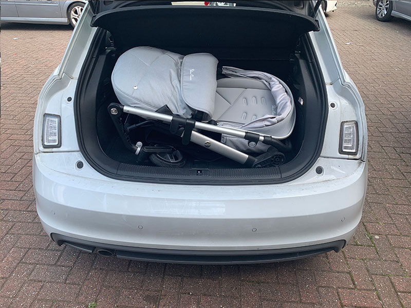 Audi A1 Pushchair Fitting - Silver Cross Pioneer