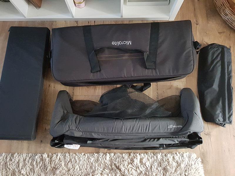 Micralite Sleep & Go Travel Cot Image 1