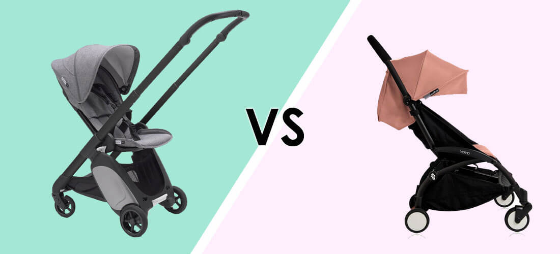 Image result for Bugaboo Ant vs YoYo Stroller