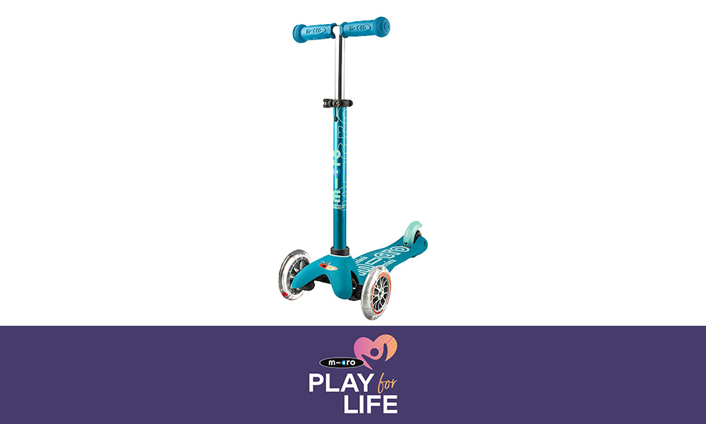 Micro Scooter Play For Life Banner