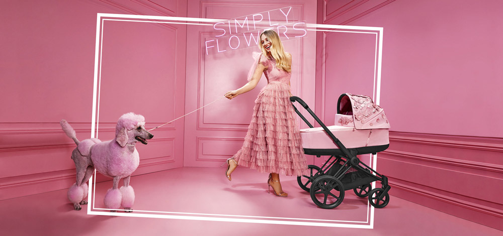 Cybex Simply Flowers Collection Banner